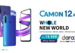 TECNO Launches CAMON 12 Air Exclusively Online
