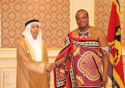UAE Non-Resident Ambassador presents credentials to King of Eswatini