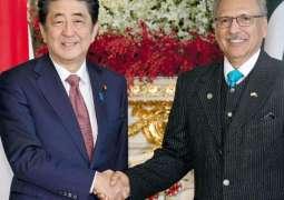 President Alvi meets Japanese PM in Tokyo