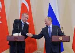 Russian Military Police Move Toward Syria's Kobane Under Putin-Erdogan Agreement