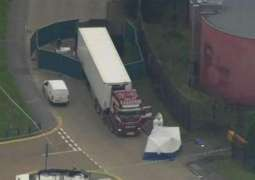 UK Police Find Truck With 39 Dead Bodies in Country's Southeast - Reports