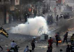 Iraqi Security Forces Use Water Cannons Amid Renewed Protests in Central Baghdad - Reports