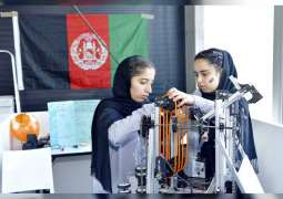 Afghan all-girls team challenge status quo to compete in robotics contest