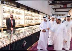 Nahyan bin Mubarak naugurates 27th Jewellery and Watch Show in Abu Dhabi