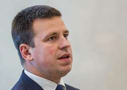 Estonian Prime Minister Counts on Cooperation With US in Fighting Money Laundering
