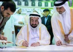Sharjah Ruler launches his latest books at SIBF 2019