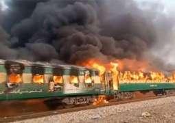 Death toll in Tezgham train's fire reaches 70