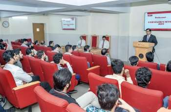 UVAS Business School arranged orientation sessionfor newly-admitted students