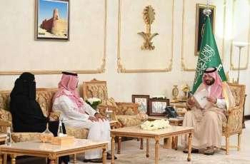 سمو الأمير فيصل بن خالد يستقبل أمين وأعضاء مجلس شباب منطقة الحدود الشمالية