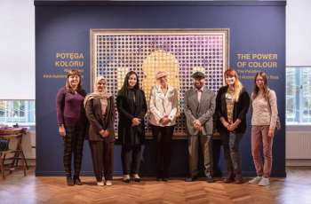 اختتام فعاليات معرض عبدالقادر الريس بالمتحف الوطني في بولندا