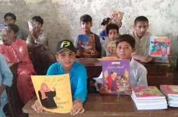 Over 3,000 books donated for disadvantaged children