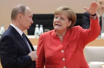 Putin, Merkel Discuss Syria Over Phone Ahead of Pilot Meeting of Constitutional Committee