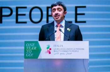Expo 2020 Dubai encapsulates desire for optimism in region: Abdullah bin Zayed