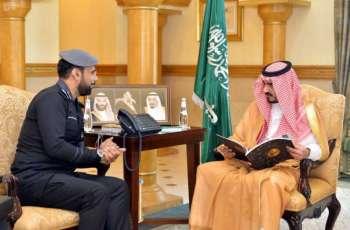 سمو نائب أمير منطقة مكة المكرمة يتسلم التقرير السنوي لأعمال مركز العمليات الأمنية الموحدة