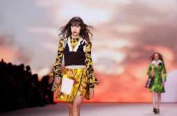 Vuitton closes Paris Fashion Week with vintage flashback