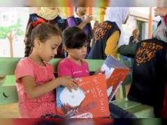 Kalimat Foundation donates 2,000 books to Al Zaatari camp children in Jordan