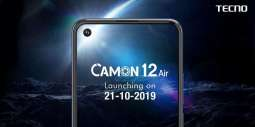 Official Launch Date of Camon 12 Air Is Finally Here