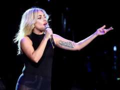 Lady Gaga falls off stage during concert in Las Vegas