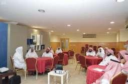 هيئة الأمر بالمعروف بمكة المكرمة تعقد اجتماعاً لمشاركتها في ملتقى مكة الثقافي