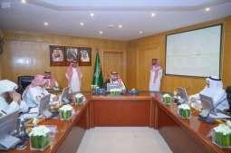 سمو نائب أمير الجوف يرأس الاجتماع الأول لجمعية البر الخيرية