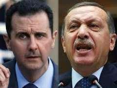 """الرئیس السوري بشار الأسد یصف نظیرہ الترکي رجب طیب أردوغان ب"""" اللص """" یسرق الأرض"""