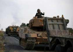 Russian Military Police Convoy Arrives in Syria's Kobane - Defense Ministry