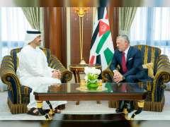 King of Jordan meets Abdullah bin Zayed in Riyadh