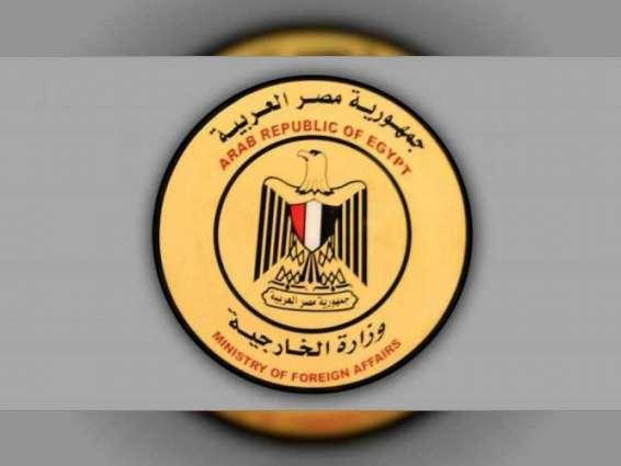 مصر تدين العدوان التركي على سوريا وتدعو لاجتماع طارئ لمجلس الجامعة العربية