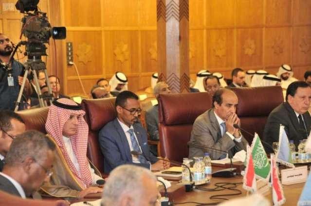 مجلس وزراء الخارجية العرب يطالب مجلس الأمن بوقف العدوان التركي على سوريا