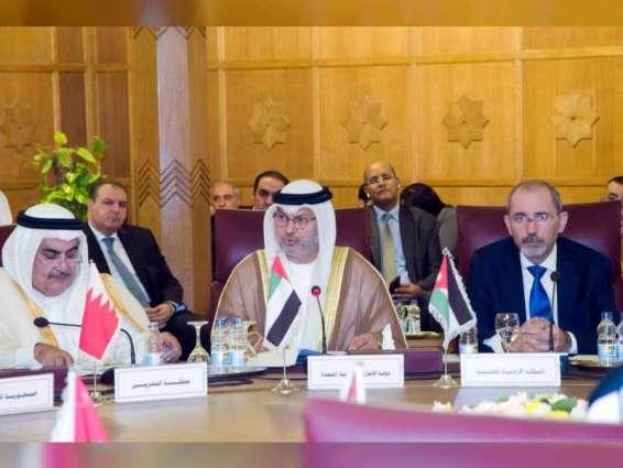 الإمارات تطالب تركيا وكل القوات الأجنبية التي استباحت سوريا بالخروج منها .. والدفع نحو إنجاح الحل السياسي