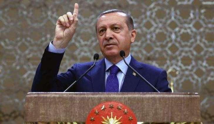 الرئیس الترکی رجب طیب اردوغان یلغي زیارتہ الي باکستان