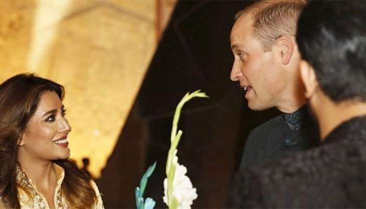 William is a real life Prince charming: Mehwish Hayat