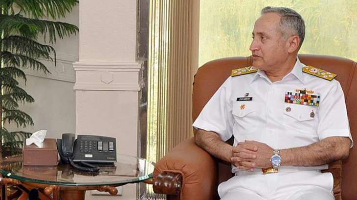 Naval Chief, Omani Chief of Staff discuss regional security