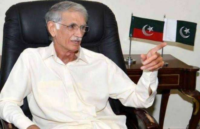 Pervez Khattak says PM's resignation is not an option
