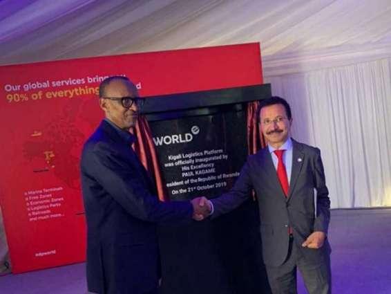 موانئ دبي العالمية تفتتح منصة كيغالي اللوجستية في رواندا