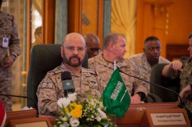 رؤساء الأركان بدول الخليج وعدد من الدول الشقيقة والصديقة يشاركون في مؤتمر الأمن والدفاع بالرياض