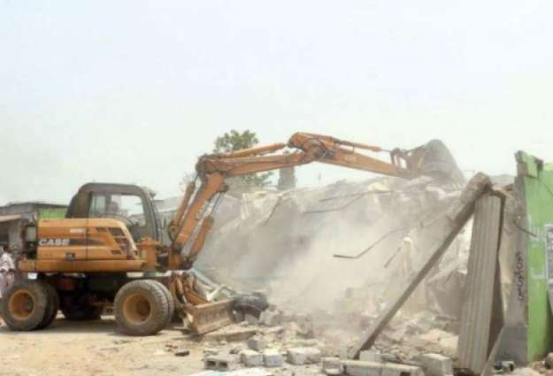 CDA demolished several illegal constructions