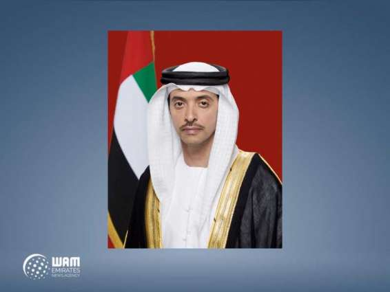 Hazza bin Zayed receives members of Emirati diplomatic mission in Japan