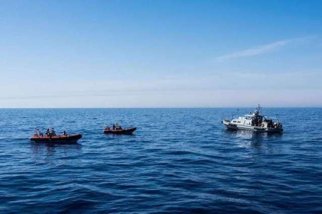 Libyan Coast Guard Rescues Over 120 Migrants in Mediterranean Sea - Navy