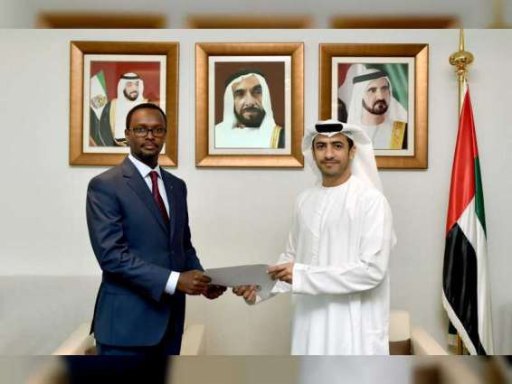 MoFAIC receives copy of credentials of Rwandan Ambassador to UAE