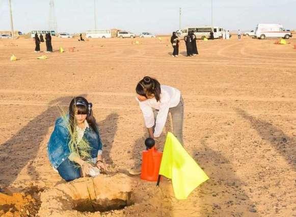رابطة تبوك الخضراء تدشن البرنامج الرابع لتنمية الغطاء النباتي بالمنطقة