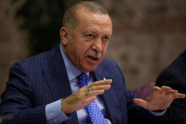 Erdogan Says Turkey, in Its Operation, Liberating Northern Syria From Militants