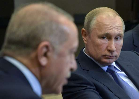 Putin After Talks With Erdogan Says Necessary to Further Help Syrian Refugees Return Home