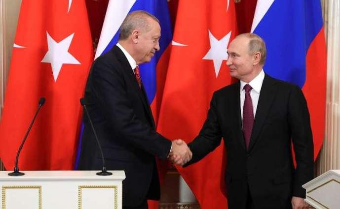 Russia, Turkey Adopt Memorandum on Situation in Syria Following Putin-Erdogan Talks