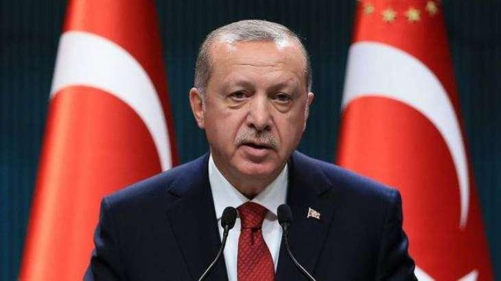 Syria's Kurdish Units to Be Pushed Back From 18-Mile Border Zone Starting Oct 23 - Erdogan