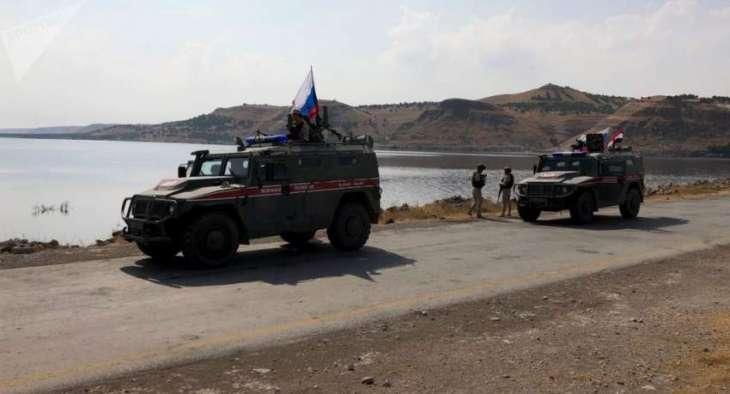 Russian Military Police Begin Patrolling Northeast of Syria's Manbij - Spokesman