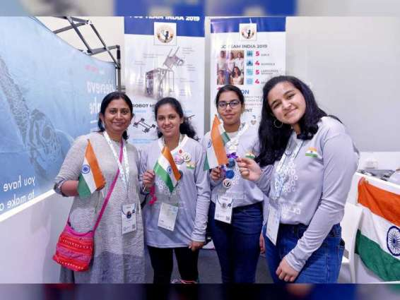 India's all-girl robotics team competes in FIRST Global Challenge