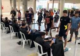 """لاعبو الامارات يجتازون إجراءات الوزن بنجاح للمشاركة في """"ريو جراند سلام"""" للجوجيتسو بالبرازيل"""