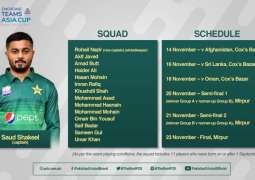 Saud Shakeel named Pakistan captain for ACC Emerging Teams Asia Cup 2019