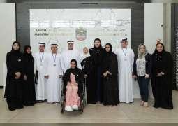 أعضاء المجلس الاستشاري للاطفال يقدمون 6 مبادرات مبتكرة الى وزارة التسامح